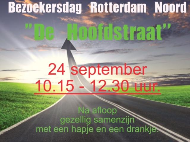 Bezoekersdag 24 september: De Hoofdstraat